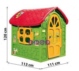 Műanyag Kerti Házikó