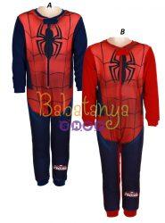 Pókember polár egyberészes pizsama