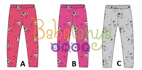 Minnie egeres bélelt leggings