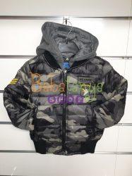 Terep mintás átmeneti kabát